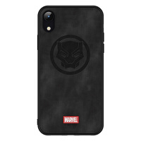 Marvel漫威iPhone x钢铁侠手机壳XR苹果XS MAX蜘蛛侠雷神美国队长 黑豹 XR 6.1寸