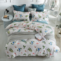 家纺床上四件套网红款床单ins北欧风学生宿舍 床上用品三件套 1.5/1.8m床(四件套) 建议搭配200*23