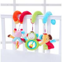 JJOVCE婴儿玩具新生儿益智床绕毛绒男女孩床铃床挂车挂