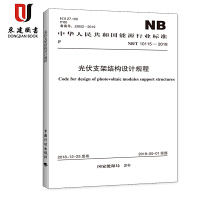 光伏支架结构设计规程(NB/T 10115-2018)