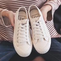 夏季平底大号帆布鞋女鞋大码41-43韩版百搭黑色学生板鞋40球鞋42