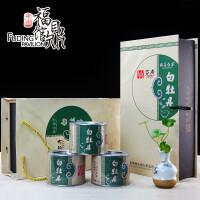 【福建福鼎馆】福建特产 多奇 福鼎白茶礼盒装白牡丹牡丹茶正品陈茶白茶高山日��