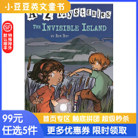 进口英文原版绘本The Invisible Island A to Z 神秘案件 #9 看不见的小岛