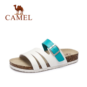 Camel/骆驼女鞋 新款夏季 舒适休闲女拖鞋 耐磨防滑沙滩拖鞋