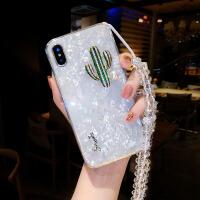 仙人掌挂绳苹果xs手机壳硅胶套iphone7潮牌8plus6s网红新款女 6/6s 4.7寸