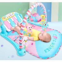 脚踏钢琴新生婴儿健身架器音乐益智玩具