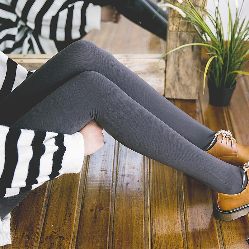 2018新品日系压力袜秋冬加厚保暖连裤袜自发热打底袜显收哑光性感潮流 发货周期:一般在付款后2-90天左右发货,具体发货时间请以与客服协商的时间为准