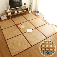 地垫榻榻米地板卧室拼接垫子家用客厅儿童凉席防滑爬行垫拼图