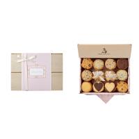 【年货】诗特莉纯爱之美 (L)880g 台湾进口牛奶巧克力燕麦手工喜饼饼干休闲零食品