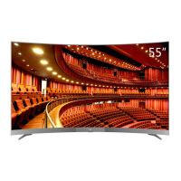 TCL 55A950C 55英寸 32核人工智能HDR超薄4K曲面金属机身液晶电视(枪色)