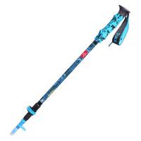 户外登山杖拐杖手杖 折叠伸缩爬山装备 三节直柄行山杖