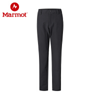 Marmot/土拨鼠春秋运动户外休闲M3女士薄款防风透气软壳裤