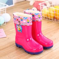 20190821173703687防雨鞋套防水雨天儿童韩国可爱四季新款硅胶鞋套两用防滑加厚耐磨底防雨靴套1-10岁小孩