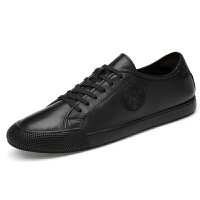 新款男鞋潮春季英伦休闲鞋韩版潮流小白鞋百搭皮鞋白色男士板鞋夏季百搭鞋