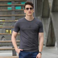 9113夏装新款吉普盾薄款圆领短袖T恤衫 男士半袖大码宽松休闲polo衫
