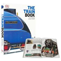 DK The Train Book dk火车 儿童百科科普知识全书英语版 大开本视觉图解图鉴 英语英文原版图书进口