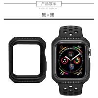 适用apple watch4保护套苹果4代手表壳iPhone watch3硅胶套iwat