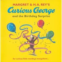Curious George and the Birthday Surprise 好奇的乔治 英文原版进口图书 儿童英语