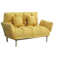 甜梦莱懒人沙发小户型双人简易沙发床客厅卧室阳台榻榻米折叠两用沙发椅 豪华款