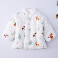 婴儿棉袄 男童女宝宝儿童纯棉花棉衣