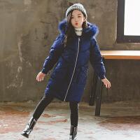 童装女童冬装外套儿童棉袄中长款女孩潮