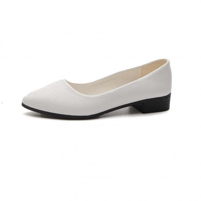 豆豆鞋女平底鞋单鞋鞋子女学生韩版尖头女鞋子时尚百搭舒适女鞋子