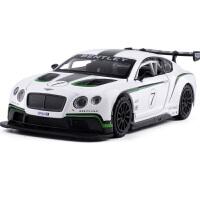 1:32宾利欧陆GT3赛车合金跑车轿车儿童汽车玩具车模型礼物