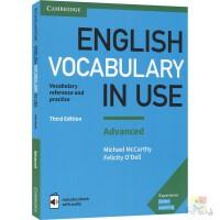 English Vocabulary in Use Advannced 剑桥英语备考词汇 高级 附赠在线电子书 英语在用