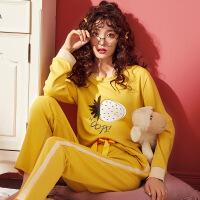 秋冬季新款秋冬新款女士家居服 时尚创意韩版女士睡衣 批发 SS C2106
