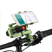 山地自行车摩托电动车手机架导航支架灯架二合一通用骑行装备配件