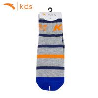安踏儿童袜子2018夏季新款运动袜弹力男童短袜女孩船袜子39727304