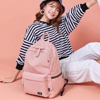 森系��s�p肩包高中�W生��包女生初中生大容量旅行背包