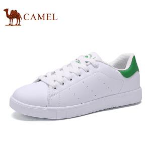 骆驼牌女鞋 新款时尚板鞋休闲平底小白鞋女单鞋潮