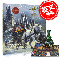 现货 哈利波特立体书 圣诞节礼品书 英文原版 Harry Potter: A Hogwarts Christmas Po