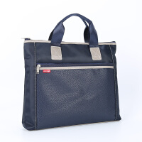 手提文件袋帆布袋A4加宽牛津布公文包 男女士商务办公会议袋定制 5108