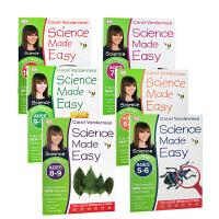 【全店满300减100】英文原版 Science Made Easy 系列6册套装 DK出版 自然拼读练习册 5-11岁
