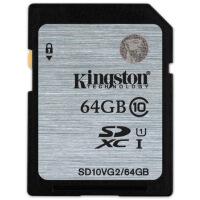 金士顿(Kingston)64GB 80MB/s SD Class10 UHS-I高速存储卡 数码相机内存卡扩展卡