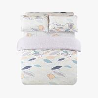 当当优品四件套高支高密纯棉双人床单款床品1.5-1.8米适用 西雅图