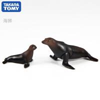 TOMY多美卡安利亚仿真动物模型玩具海底世界海洋系列虎鲸鲨鱼海豚