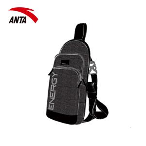 安踏胸包单肩包 2018新款多功能手机配件收纳包胸包挎包19737131