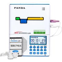 PANDA/熊猫F-378复读机充电磁带录音机U盘MP3小学初中生儿童学生熊猫牌跟读听英语听力数码播放器 蓝色