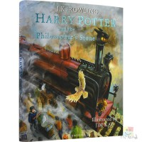 Harry Potter and the Philosopher's Stone 哈利波特与魔法石 全彩精装珍藏版 英版