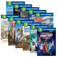 正版现货 美国企鹅兰登经典分级读物兰登英语第五阶段10册 英文原版绘本 Step into Reading 5 英文版