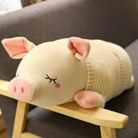 超软猪公仔大毛绒玩具 床上抱着睡觉的娃娃大号可爱小女孩懒人萌