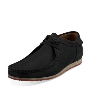 Clarks/其乐男鞋2017秋冬新款复古英伦时尚休闲鞋Wallabee Run专柜正品直邮