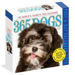 英文原版 365只狗 2020年日历 每天一页 萌宠摄影 进口台历 365 Dogs Page-A-Day Calen