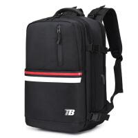 背包男双肩包旅游出差男士书包商务休闲电脑背包旅行背包大容量