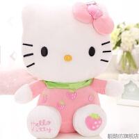 hello kitty公仔KT猫布娃娃哈喽凯蒂猫公仔布玩偶抱枕