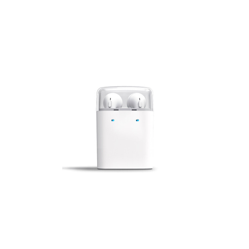 大康蓝牙耳机双耳无线入耳式耳塞苹果iphone7plus6s5通用充电一体 真无线双耳 15米传输 收纳充电一体