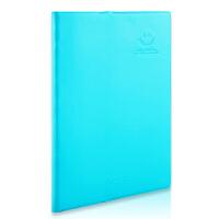 广博(GuangBo)80张B5皮面记事本子文具笔记本颜色随机/爱の微笑GBW0797当当自营